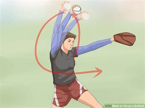8 Steps To Throwing A Fantastic by 3 Ways To Throw A Softball Wikihow
