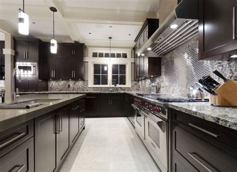 dark wood kitchen cabinets 30 classy projects with dark kitchen cabinets home