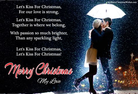 cute romantic christmas love poems   special