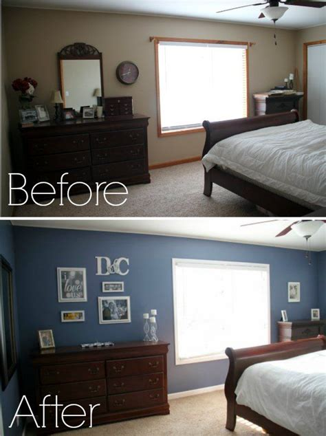 Bedroom Makeovers On A Budget Before And After Pin By Triplett On Peacewood Pines Remodel