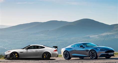 jaguar vs jaguar xk vs aston martin vanquish daily car