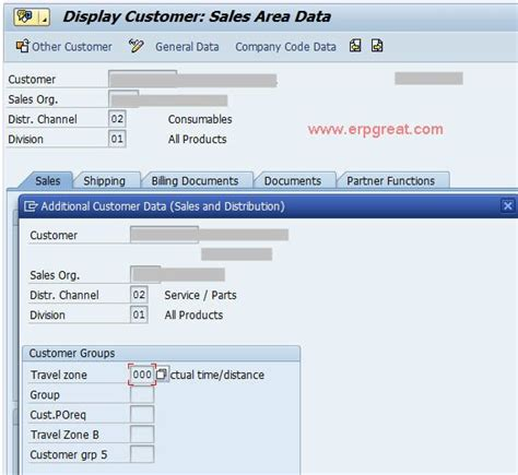 Sap Customer Master Table by Maintain Customer 1 In Customer Master