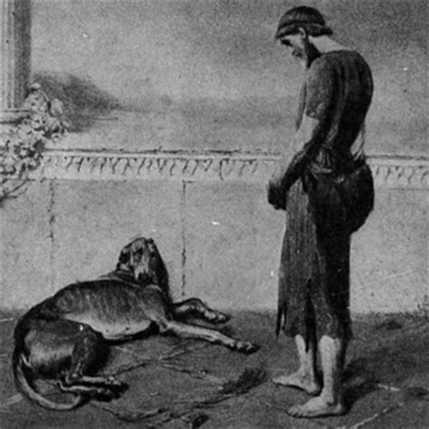 argus waited to see odysseus for 20 years when he did he