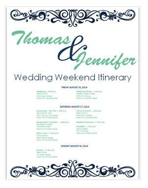 destination wedding itinerary template 341 best images about travel itinerary template on