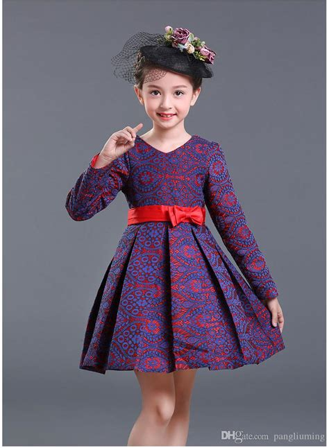 design clothes in a neighbor s town 2018 2018 new design children winter dress kids clothes