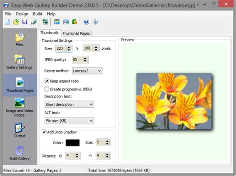 tutorial jquery image gallery thumbs pics galleries thumbnails free