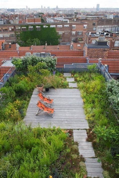 Just Two Fabulous Roof Gardens by 1000 Ideas About Roof Gardens On Rooftop