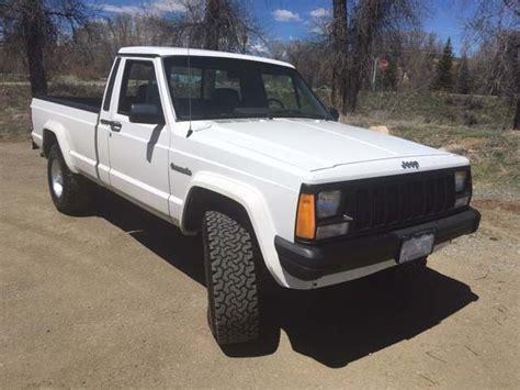 jeep comanche 4x4 1989 jeep comanche 4x4 longbed 4 0 5 speed truck