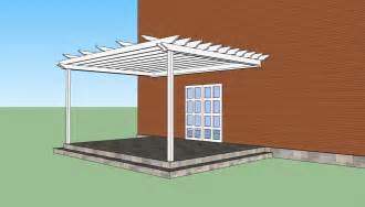 Building A Pergola Attached To House by How To Build A Pergola Attached To The House