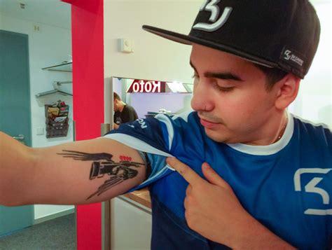 dragon tattoo cs go esports ink sk gaming s coldzera thescore esports