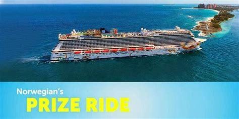 Norwegian Cruise Sweepstakes - norwegian cruise lines prize ride sweepstakes sweepstakesbible