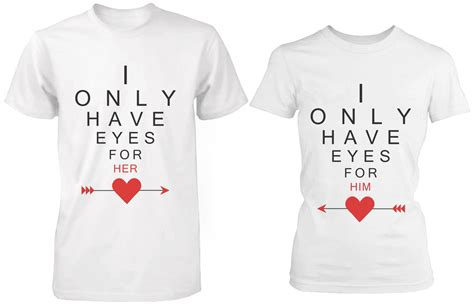 Matching T Shirts For Couples I Only For You Matching From 365 Printing Inc