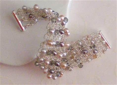 how to make wire crochet jewelry crochet silver wire bracelet only new crochet patterns