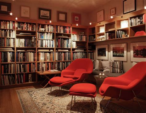 home library iconic womb chair perfect for today s decorating styles