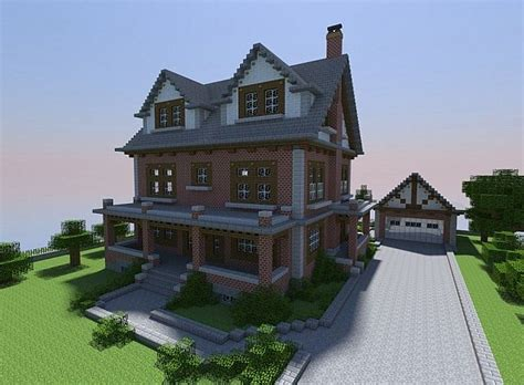 nice house designs minecraft late 1800 s brick house minecraft project