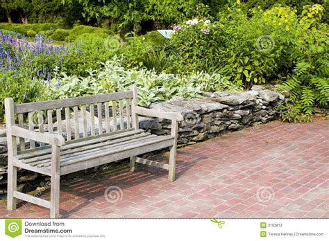 bench scene relaxing bench scene stock photography image 3162812