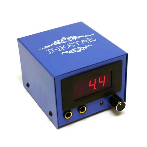 tattoo machine power supply inkstar blue box power supply for machines
