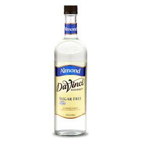 davinci almond sugar free syrup