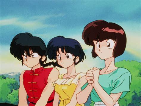 Anime 1 2 Ranma by Ranma Akane And Nabiki Ranma 1 2 Anime らんま 189 Ranma 1