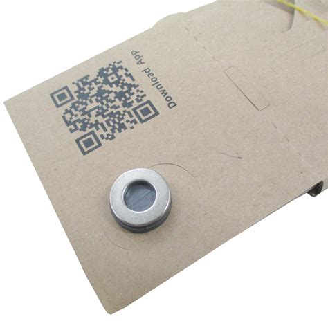 cardboard reality for smartphone silver magnet