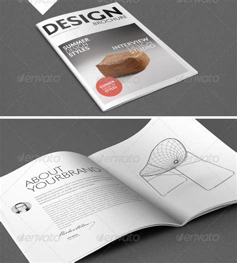 30 Best Brochure Templates 2013 Web Graphic Design Bashooka Architecture Portfolio Template Indesign Free