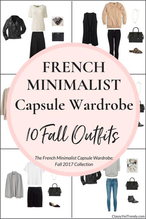 french minimalism create a french minimalist capsule wardrobe 10 fall