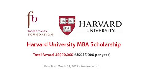 How To Apply To Harvard Mba by Usa Archives Page 10 Of 13 Asean Scholarships