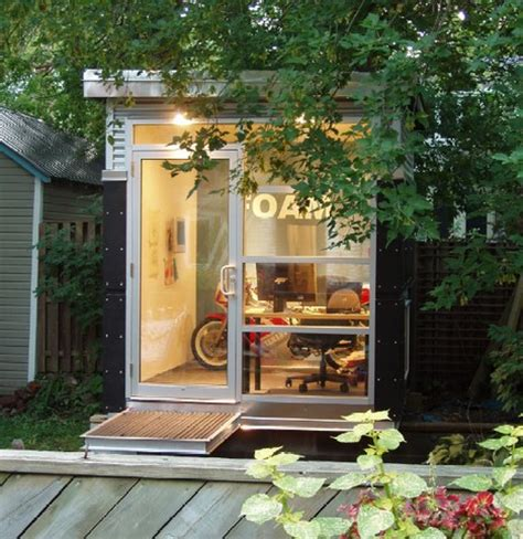 backyard home office national shed week lauds home office sheds many others