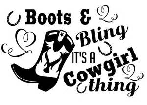 boots and bling its a cowgirl thing svg dxf pdf