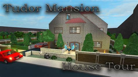 Lets Build Bloxburg Tudor Mansion House Tour