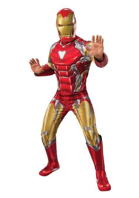 deluxe avengers endgame iron man costume men
