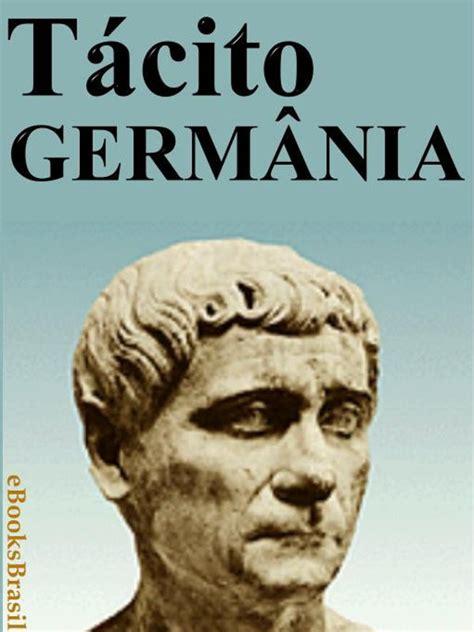 libro obras de tcito biblioteca germnia publius cornlio tcito