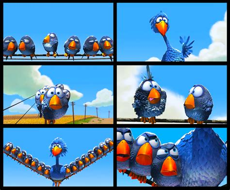 awesome stuff funny pixar animation quot for the birds quot