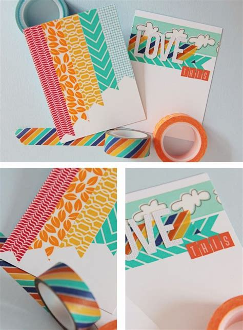 diy washi tape pin by la bisu de julia rubio on perfect washi tape