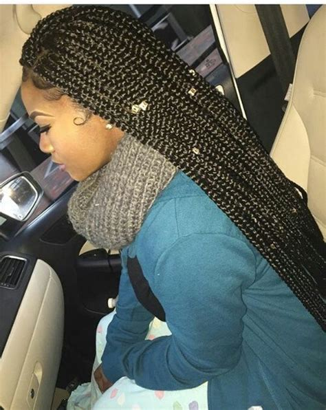 medium size poetics braids 25 best ideas about medium box braids on pinterest
