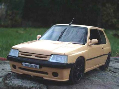 Auto Tuning 93 by Peugeot 205 Gti Auto Tuning 93 Miniature Abricot Solido 1