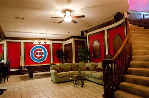 chicago home decor chicago cubs handmade distressed wood sign vintage art