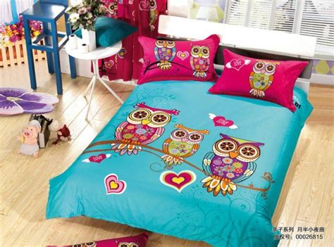 owl queen comforter set duvet covers for girls picture more detailed picture