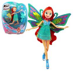 Home Decor Velcro by Winx Club Enchantix Fairy Doll Fairy Bloom Ebay