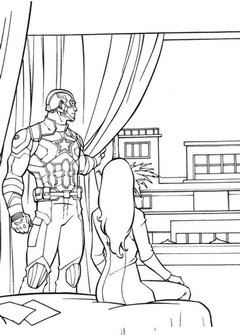 Captain America Civil War Coloring Pages Kids N Fun Com 16 Coloring Pages Of Captain America