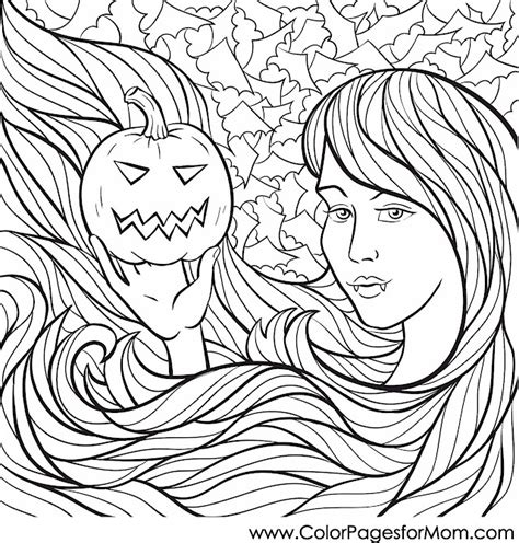 halloween coloring pages advanced advanced coloring pages halloween coloring page