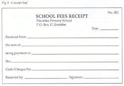 gate receipts template fees receipt book dipak agency house of school forms