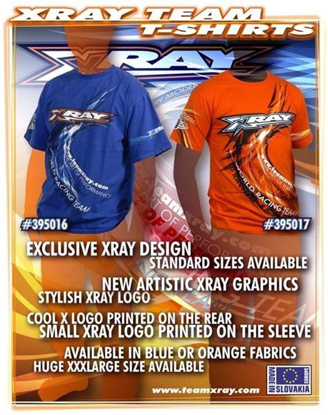 Tshirt Xray Rc Racing Hitam t shirt xray orange