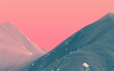 wallpaper  desktop laptop bf mountain pink nature art