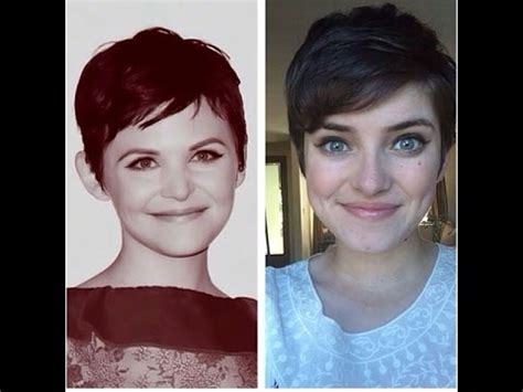 how to style a pixie cut different ways black hair how to style a pixie haircut ginnifer goodwin style