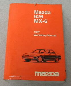 1997 Mazda 626 Mx 6 Service Workshop Manual With Wiring