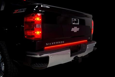 tailgate led light bars blade led tailgate light bar by putco