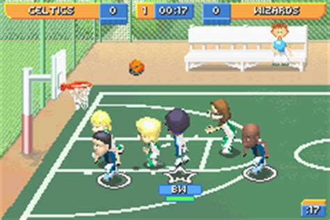 backyard basketball gba download backyard basketball rom