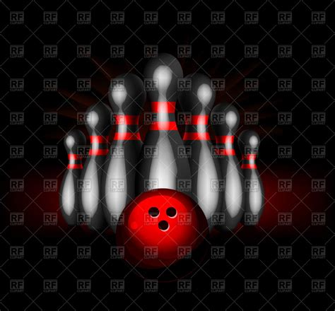 bowling background bowling background royalty free vector clip image
