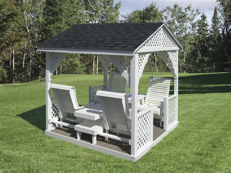 sheds and swings gazebo swings amish mike amish sheds amish barns